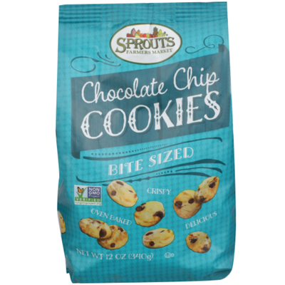 Sprouts Bite Size Chocolate Chip Cookies