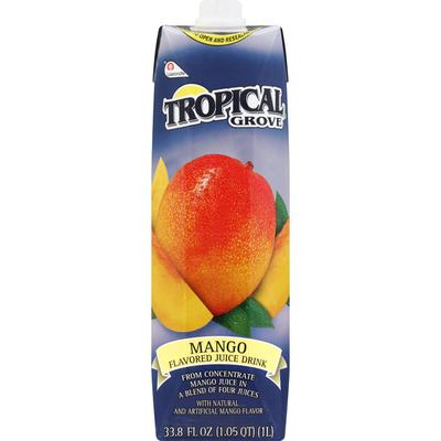 Tropical Grove Flavored Juice Drink, Mango