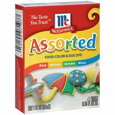 McCormick® Assorted Food Color & Egg Dye