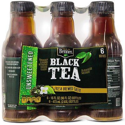 Benner Tea Co Unsweetened Flavored Black Tea