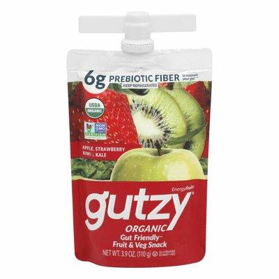 Gutzy Organic Gut Healthy Smoothie Strawberry Kiwi & Kale with Prebiotics