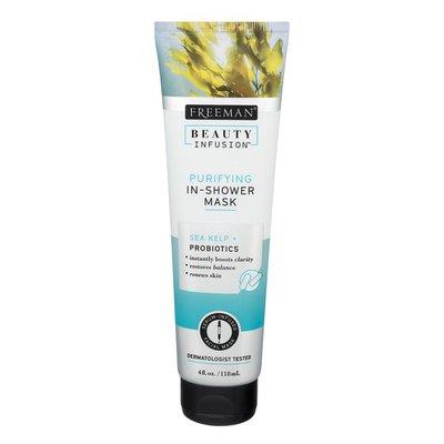 Freeman Beauty Infusion Purifying In-Shower Mask Sea Kelp + Probiotics