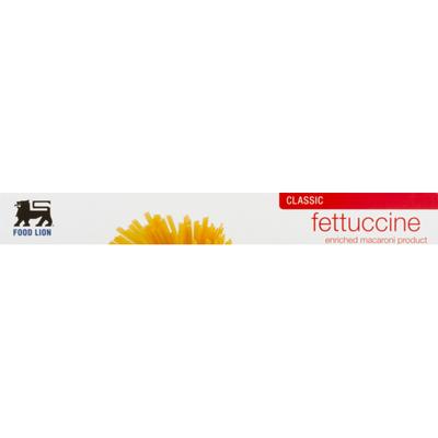 Food Lion Pasta, Fettuccine, Classic, Box