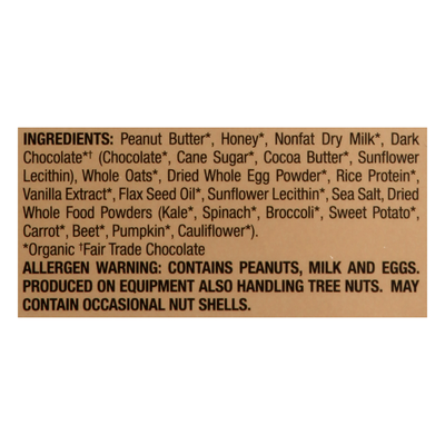 Perfect Kids Snack Bar, Organic, Refrigerated, Chocolate Chip