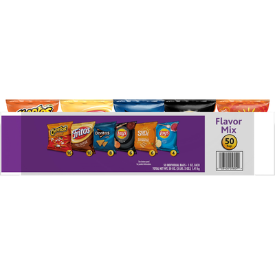 Frito Lays Flavor Mix Chips, Variety Pack