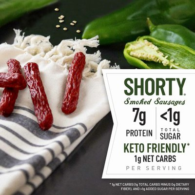 Duke's Hatch Green Chile Smoked Shorty Sausages