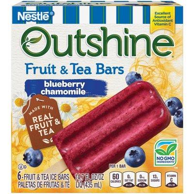Outshine Blueberry Chamomile Outshine Blueberry Chamomile Fruit & Tea Bars