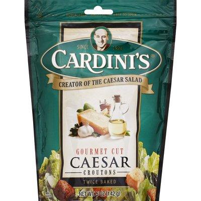 Cardini's Croutons, Caesar, Gourmet Cut