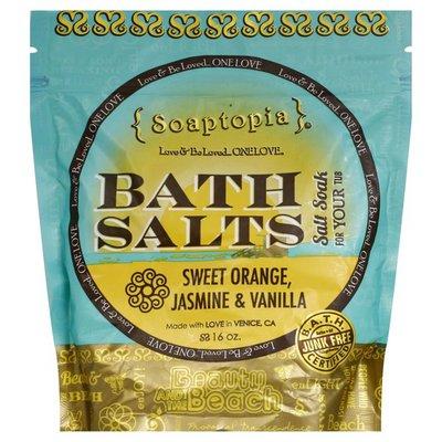Soaptopia Bath Salts, Beauty and the Beach