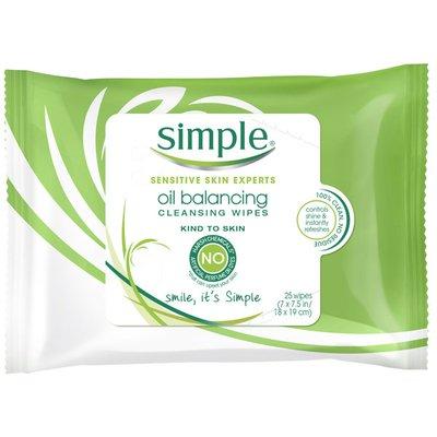 Simply Facial Care Oil Balancing Wipes