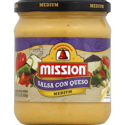 Mission Medium Salsa Con Queso