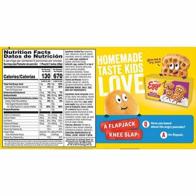 Eggo Mini Frozen Pancakes, Frozen Breakfast, All Day Kids Snacks, Chocolatey Chip