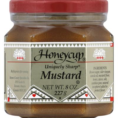 Honeycup Mustard, Uniquely Sharp