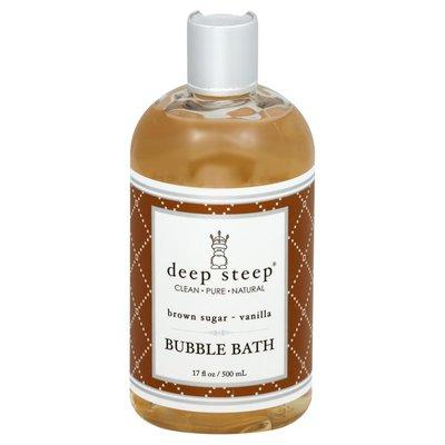 Deep Steep Bubble Bath, Brown Sugar - Vanilla