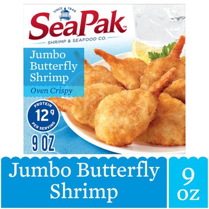 Seapak Jumbo Butterfly Shrimp 9 Oz Instacart