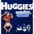 Huggies Nighttime Baby Diapers, Size 6