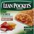 LEAN POCKETS Sandwiches, Whole Grain Crust, Ham & Cheese
