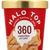 Halo Top Creamy Ice Cream, Light, Peanut Butter & Jelly