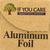 If You Care Aluminum Foil