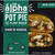 The Alpha Pot Pie, Chick'n Veggie, Plant-Based