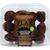 Flax4Life Muffins, Gluten Free, Flax, Chocolate Brownie, Mini