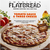 American Flatbread Pizza, Tomato Sauce & Three Cheese, Classic