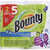 Bounty Paper Towels, Select-A-Size, Huge Rolls, Spring Prints, 2-Ply