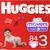 Huggies Diapers, Size 3