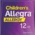 Allegra Allergy, Children's, Non-Drowsy, 12 Hr, Berry Flavor, Liquid, Value Size