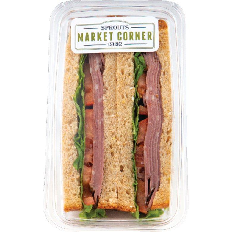 Sprouts Pastrami on Multigrain Bread Grab & Go Sandwich