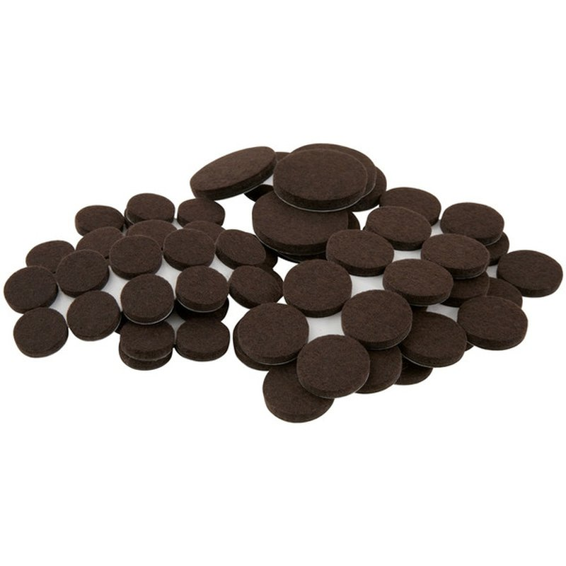 Waxman Soft Touch Felt Pads For Table & Chair 80 Piece Value Pack