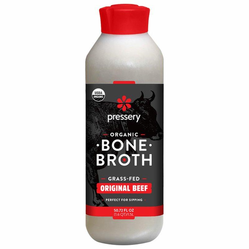Pressery Organic Beef Bone Broth