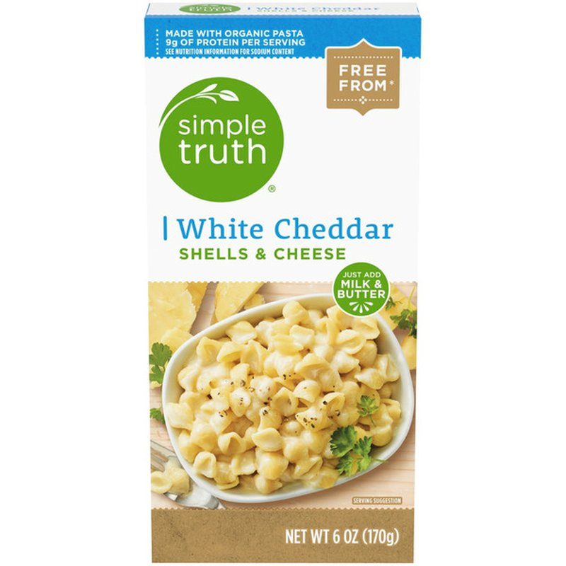 Simple Truth White Cheddar Shells & Cheese