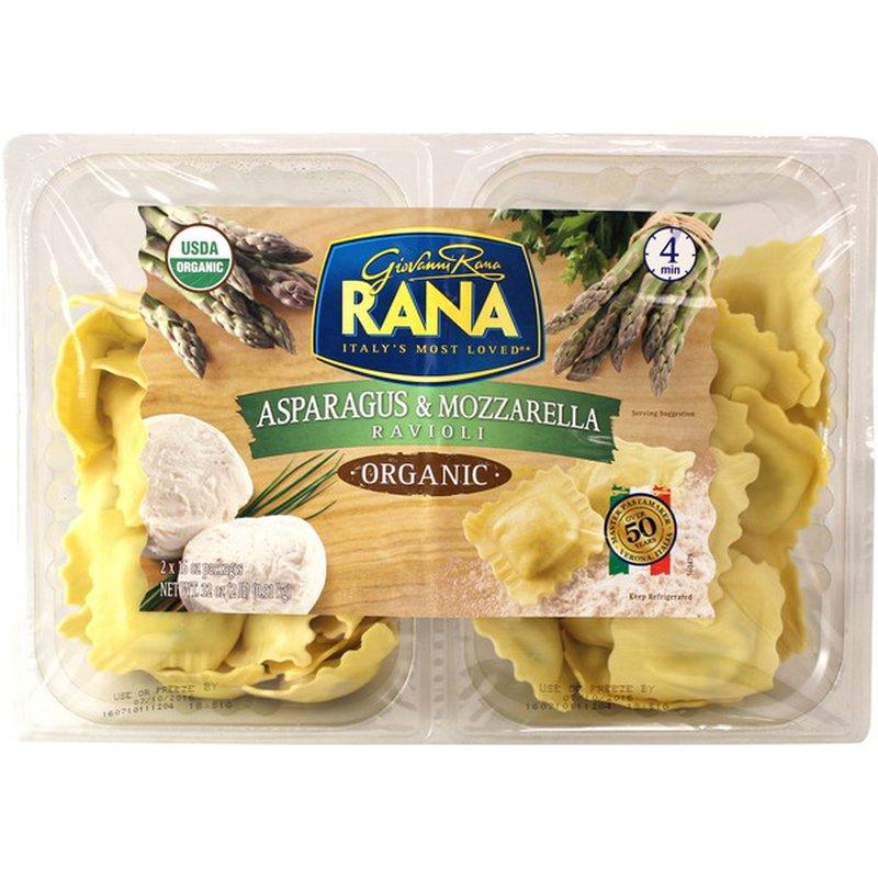 Giovanni Rana Organic Asparagus & Mozzarella Ravioli