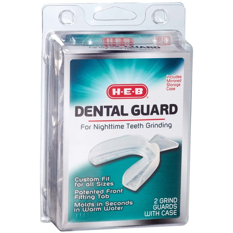 H‑E‑B Dental Guard For Nighttime Teeth Grinding With Mirrored Case