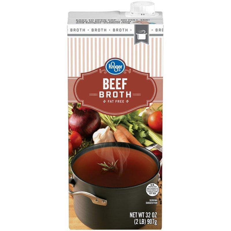 Kroger Beef Flavored Broth