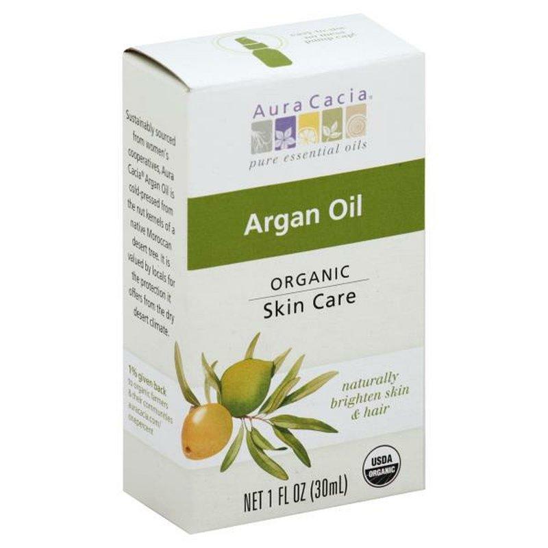 Aura Cacia Organic Argan Rejuvenating Skin Care Oil