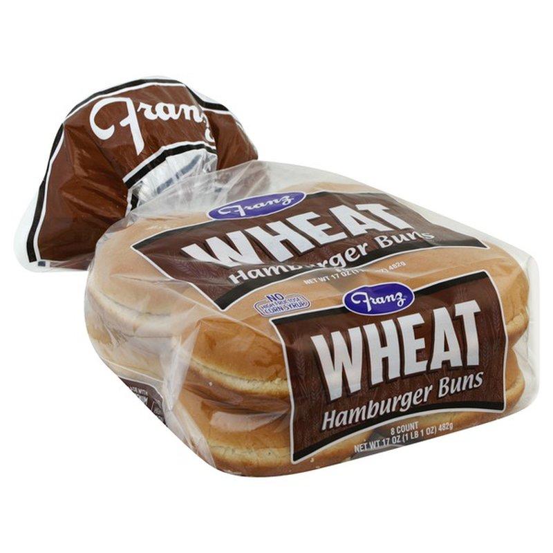 Franz Wheat Hamburger Buns