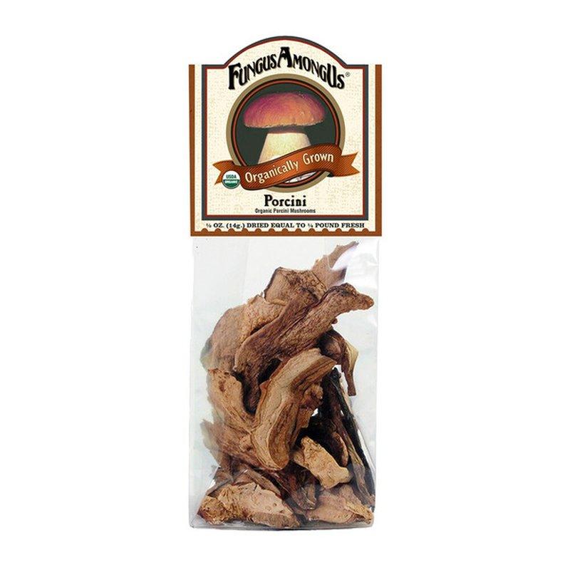 Fungus Among Us Organic Dried Porcini Mushrooms