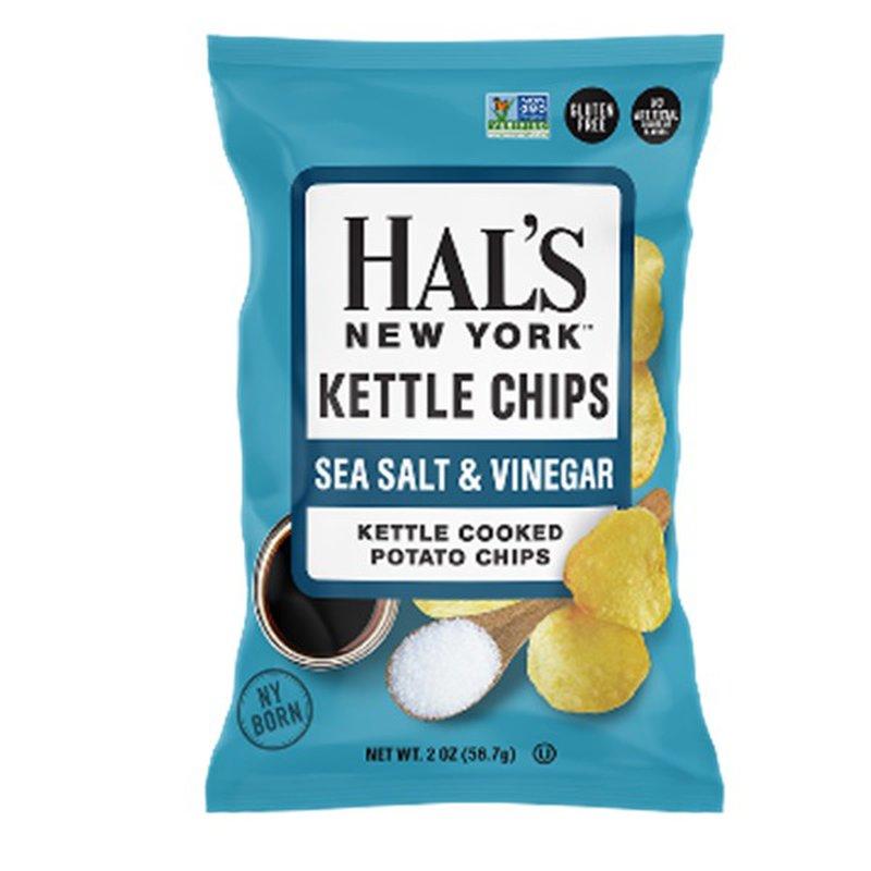 Hal's Sea Salt & Vinegar Kettle Chips