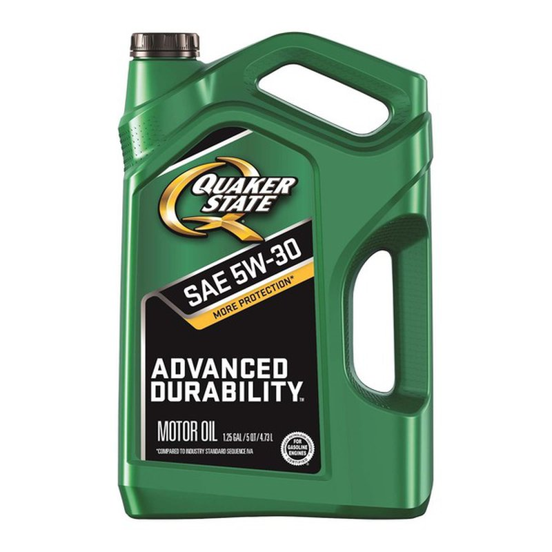 Quaker State Advanced Durability SAE 5W 30 Motor Oil