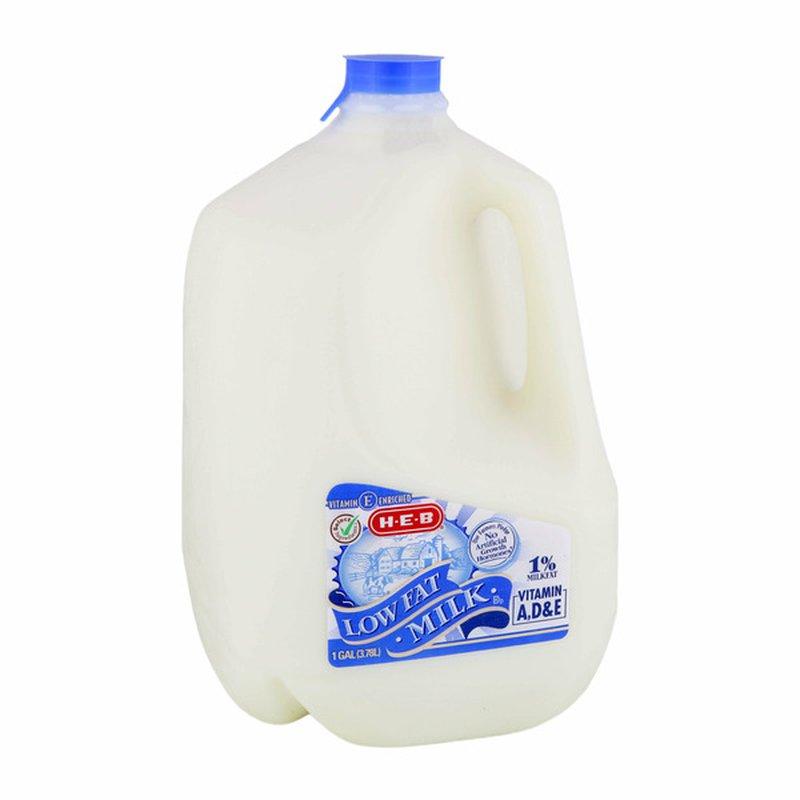 H-E-B Select Ingredients Low Fat 1% Milkfat Milk