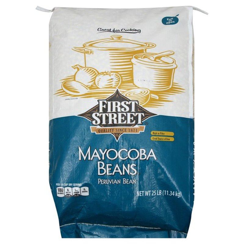First Street Mayocoba Beans