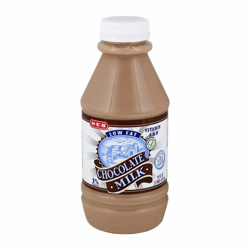 H-E-B Low Fat 1% Milkfat Chocolate Milk