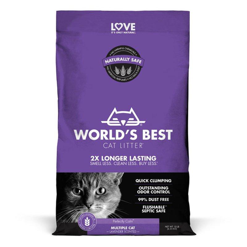 World's Best Cat Litter Scented Cat Litter