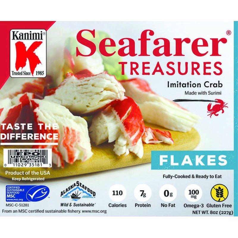Seafarer Imitation Crab Flakes