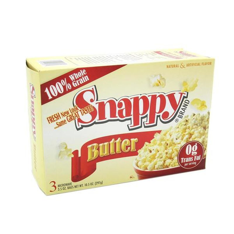 Snappy Butter Flavor Popcorn