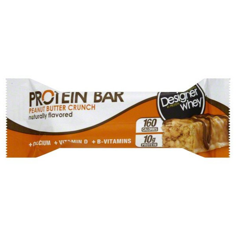 Designer Whey Peanut Butter Crunch Protein Bar