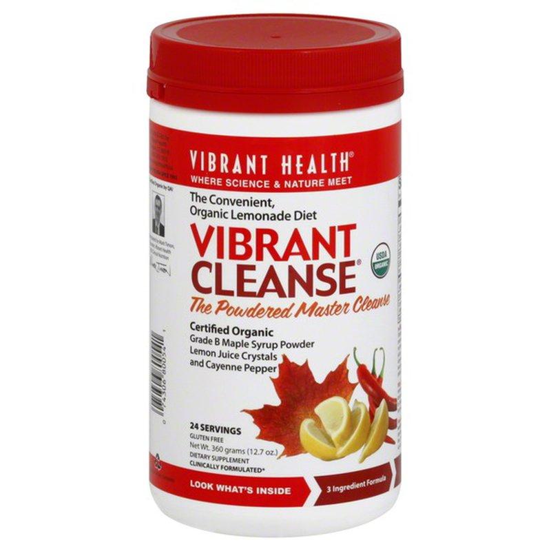 Vibrant Health Vibrant Cleanse Drink Powder 12 7 Oz Instacart