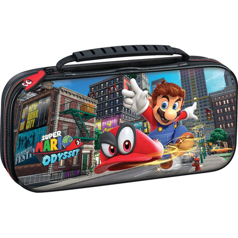 RDS Nintendo Switch Super Mario Odyssey Game Deluxe Travel Case